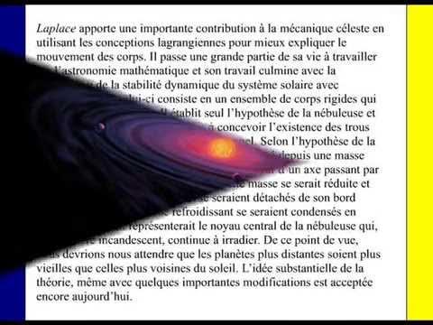 PIERRE-SIMON LAPLACE (1749-1827) mathematicien, astronome, physi
