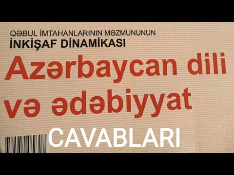AZERBAYCAN DILI INKIŞAF DINAMIKASI CAVABLARI / FAKT TV