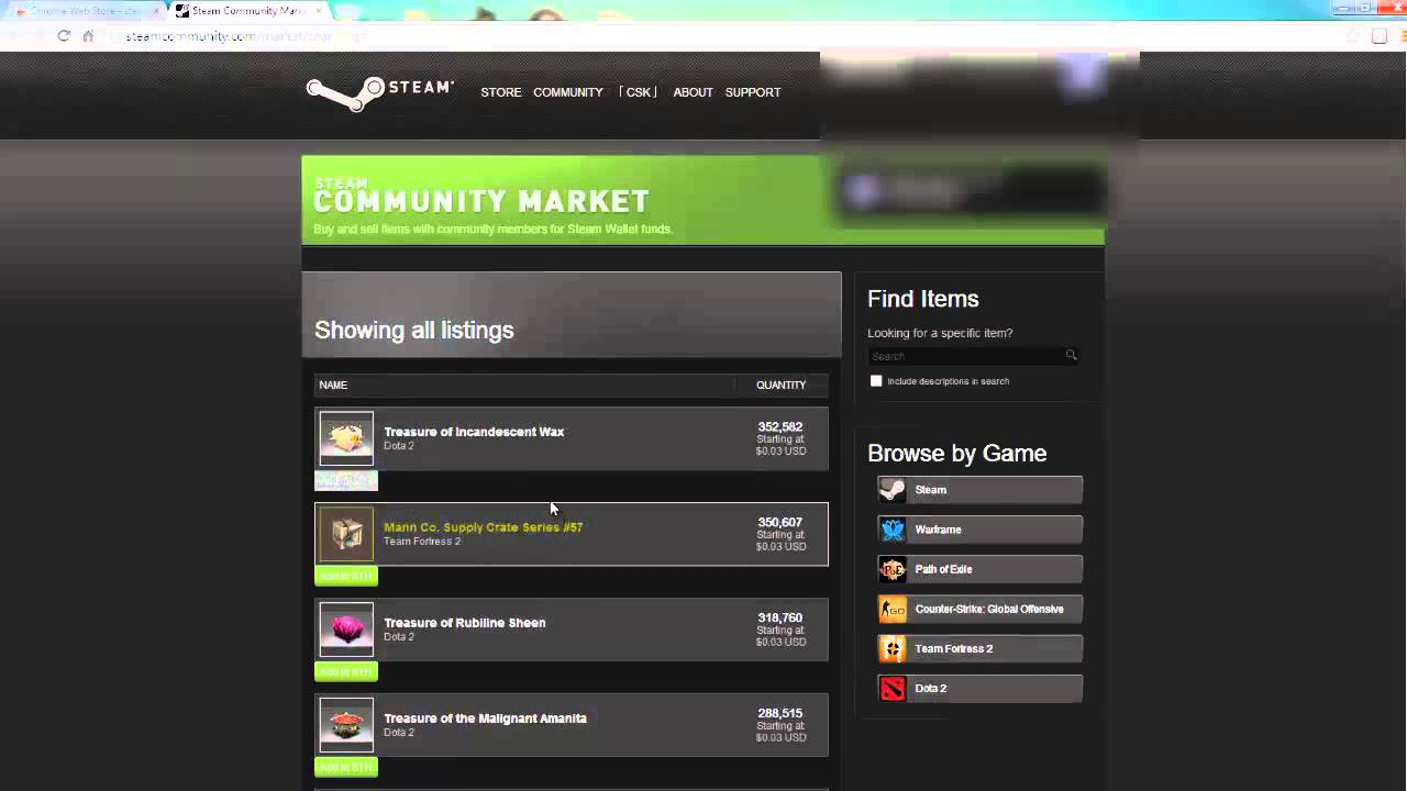 how to autobuy steam market items youtube