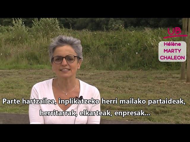 UZTARITZE BAI - La transition écologique et énergétique
