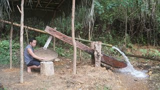 Primitive Skills: Water powered hammer (Monjolo) Part2