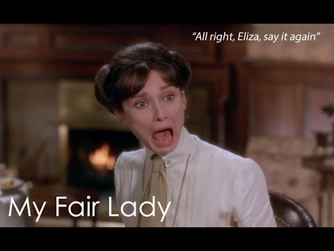 How to learn English pronunciation with My Fair Lady (1964)