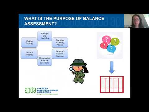 Let's Keep Moving With APDA: Assessing balance with a Physical Therapist