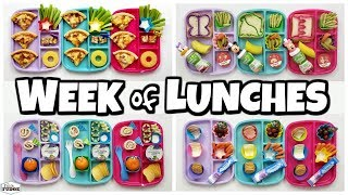 Making Lunches Without A Kitchen 😱 A Week Of Lunches 🍎 Bunches Of Lunches