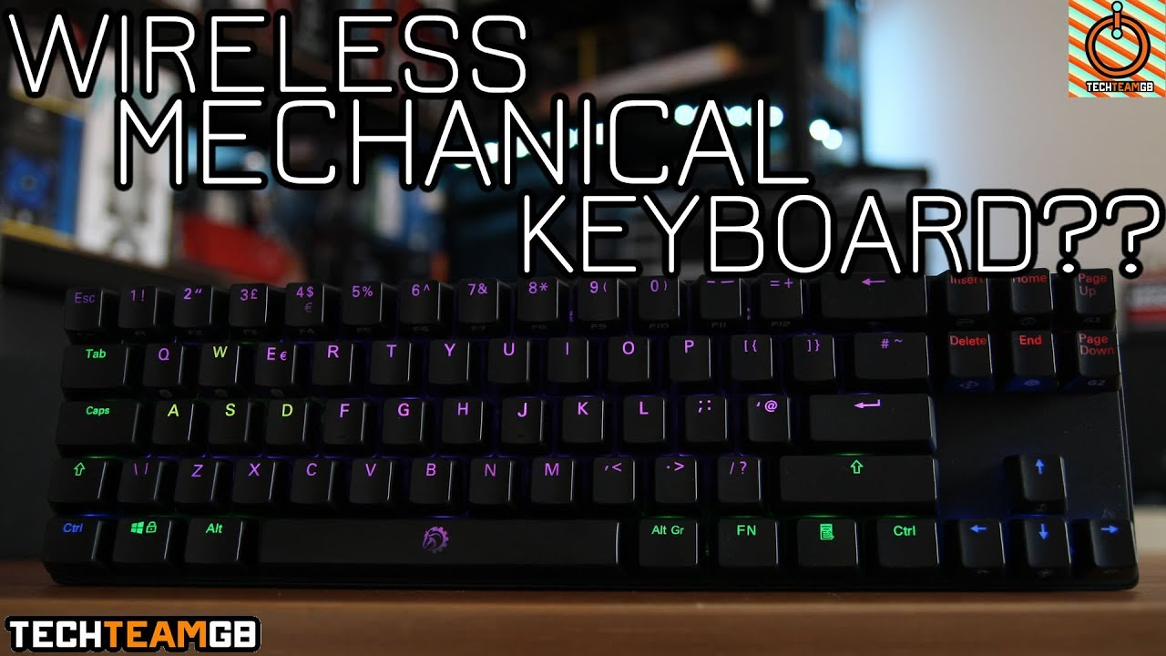 5255369445a Wireless Mechanical Keyboard?? | Drevo Calibur 72-key - YouTube