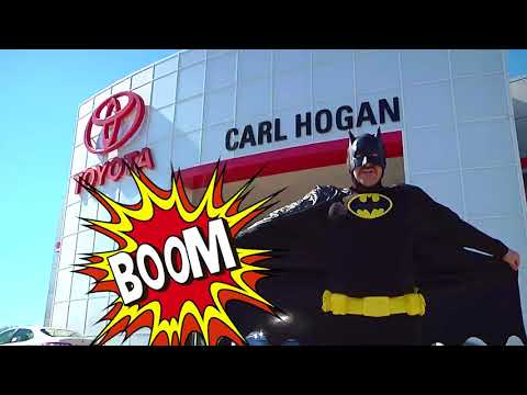 Superheroes Unite at Carl Hogan Toyota