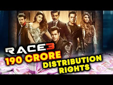 RACE 3 Distribution Rights SOLD FOR 190 CRORE TO Eros International? | Salman Khan | Jacqueline