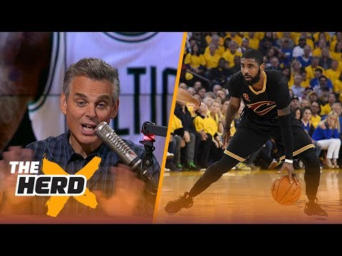 Colin Cowherd: If you get a superstar like Kyrie Irving, you win the trade | THE HERD