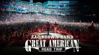 Zac Brown Band - Great American Road Trip - Boston & Hartford