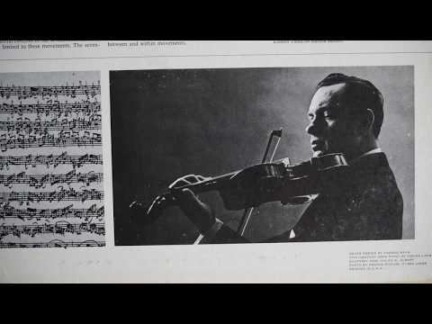 Bach   Arthur Grumiaux ‎– Complete Sonatas And Partitas For Solo Violin