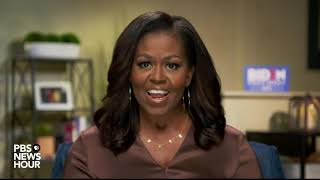 WATCH: Michelle Obama's full speech at the Democratic National Convention | 2020 DNC Night 1