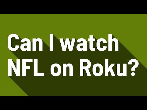 Can I Watch NFL On Roku?