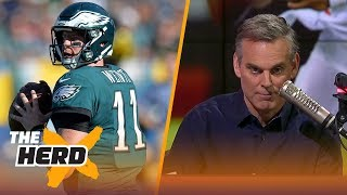 Would Carson Wentz or Deshaun Watson have saved the Cleveland Browns? | THE HERD
