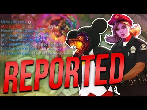 REPORTED FOR STACKING!? | THE MOST CRY BABY LUX EVER! - Trick2g