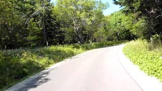 Riding up Spruce Knob (Highest point in WV) - Part 2