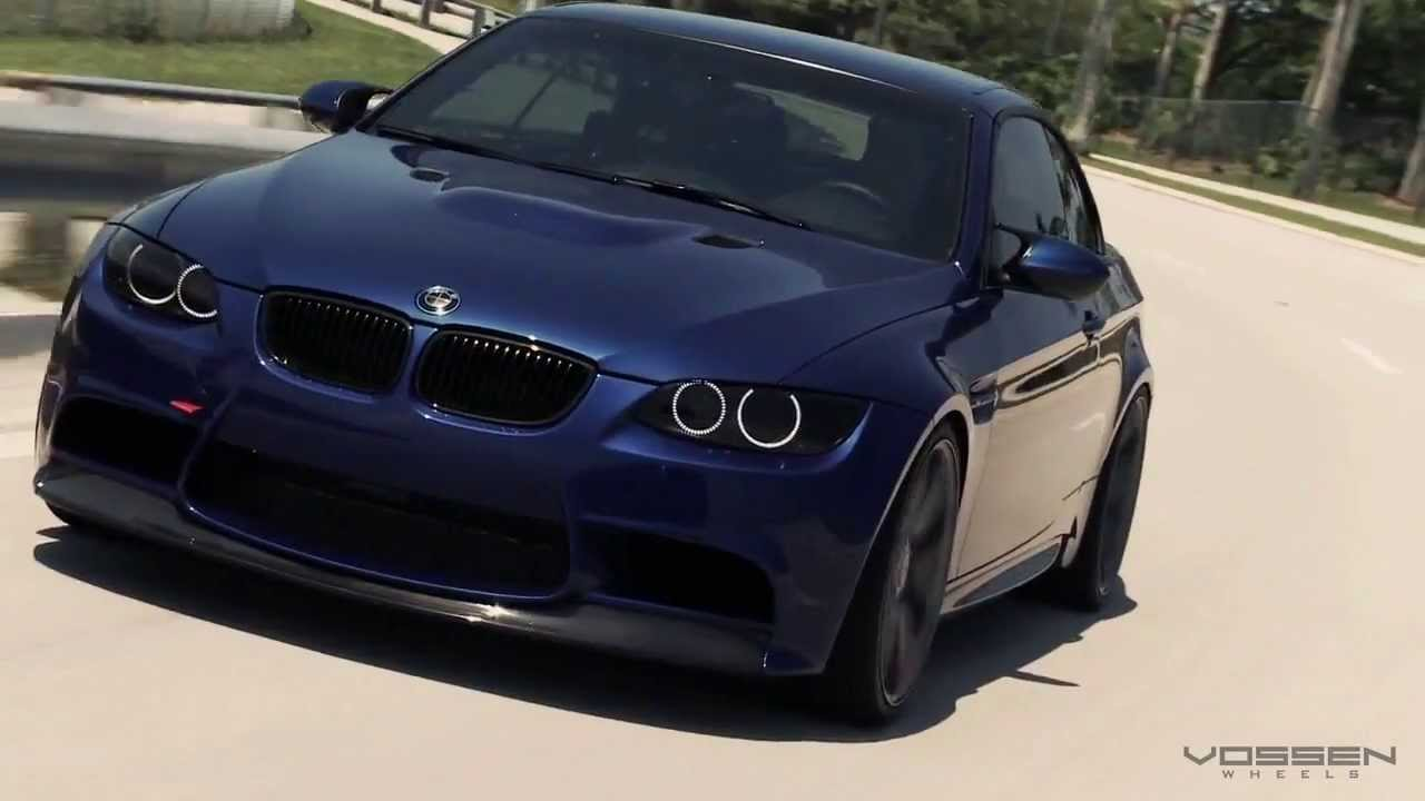 VOSSEN BMW M3 & Mercedes E63 AMG - YouTube