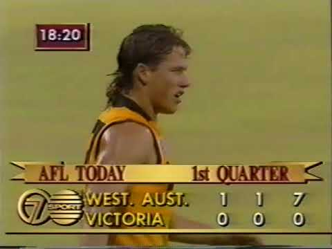 1991 State Of Origin Western Australia Vs Victoria at W A C