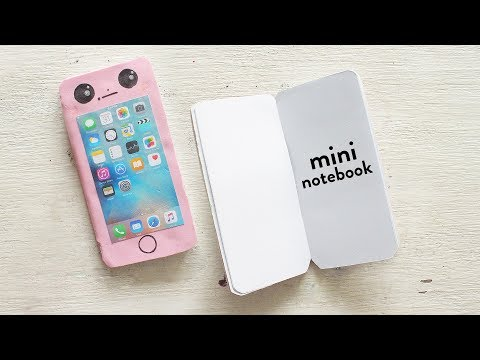 DIY Mini Notebook |  Paper Crafts |  DIY Notebooks
