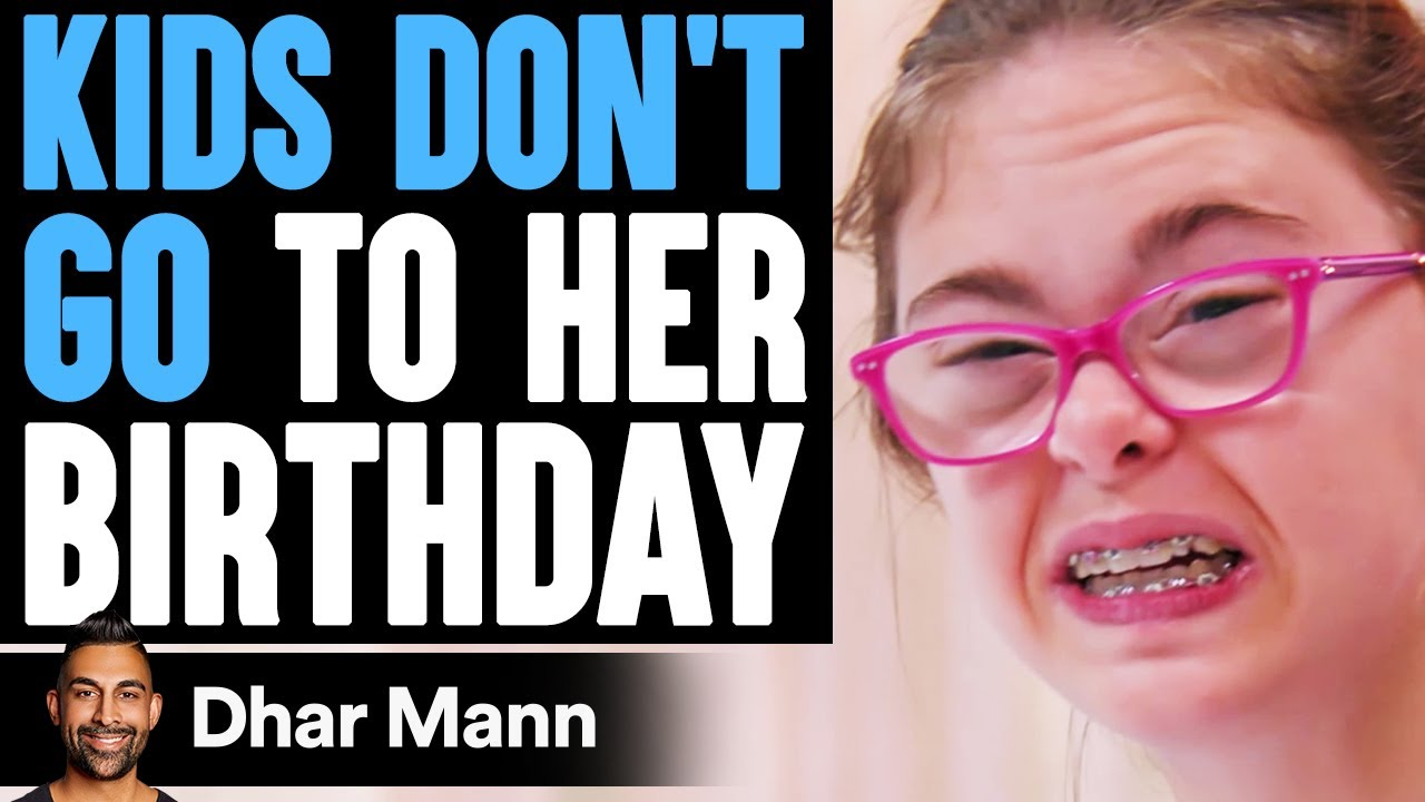 Download Kids DON'T GO TO Girl's BIRTHDAY, What Happens Is Shocking | Dhar Mann