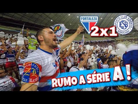 Fortaleza 2 x 1 São Bento - Melhores momentos - Série B #Rodada29 25/09/2018 !!! ( Vlog do Conrado )