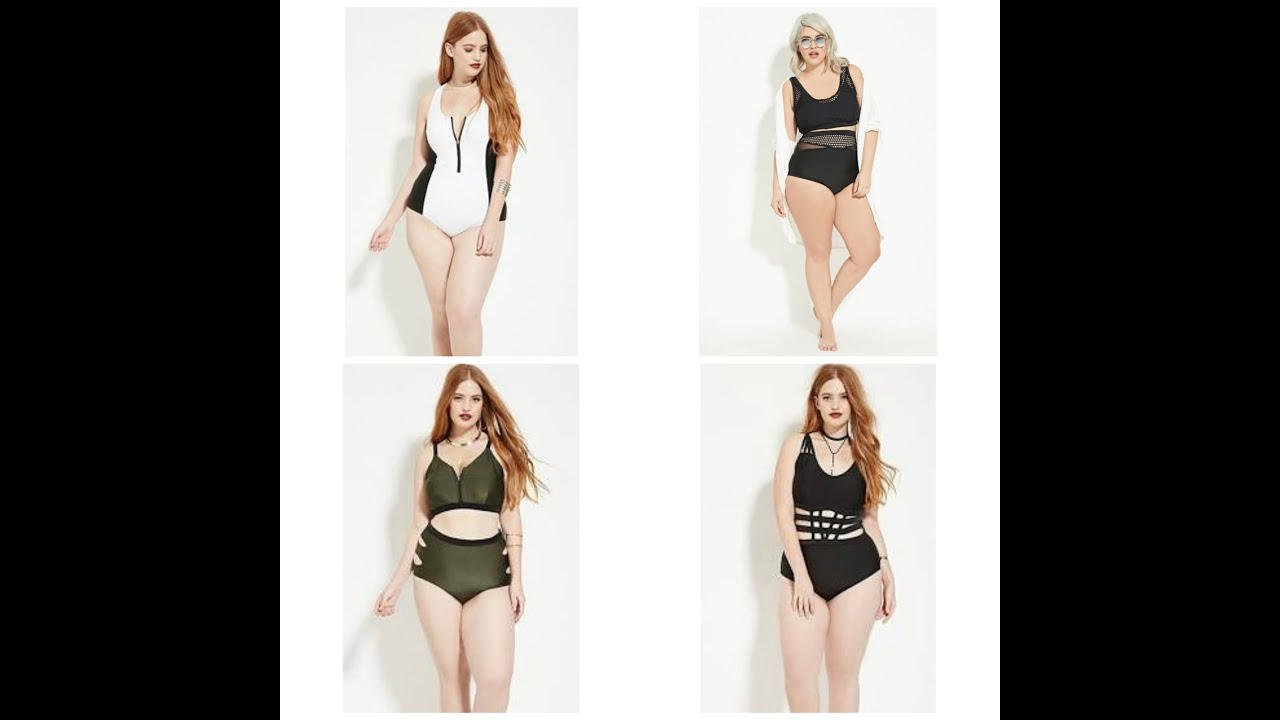 forever 21 + plus size swimwear 2016 preview - youtube