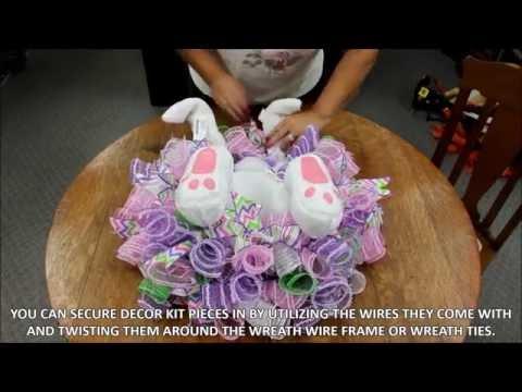 Bunny Bottom Wreath Enhancement