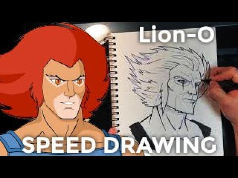 Lion-O Speed Drawing
