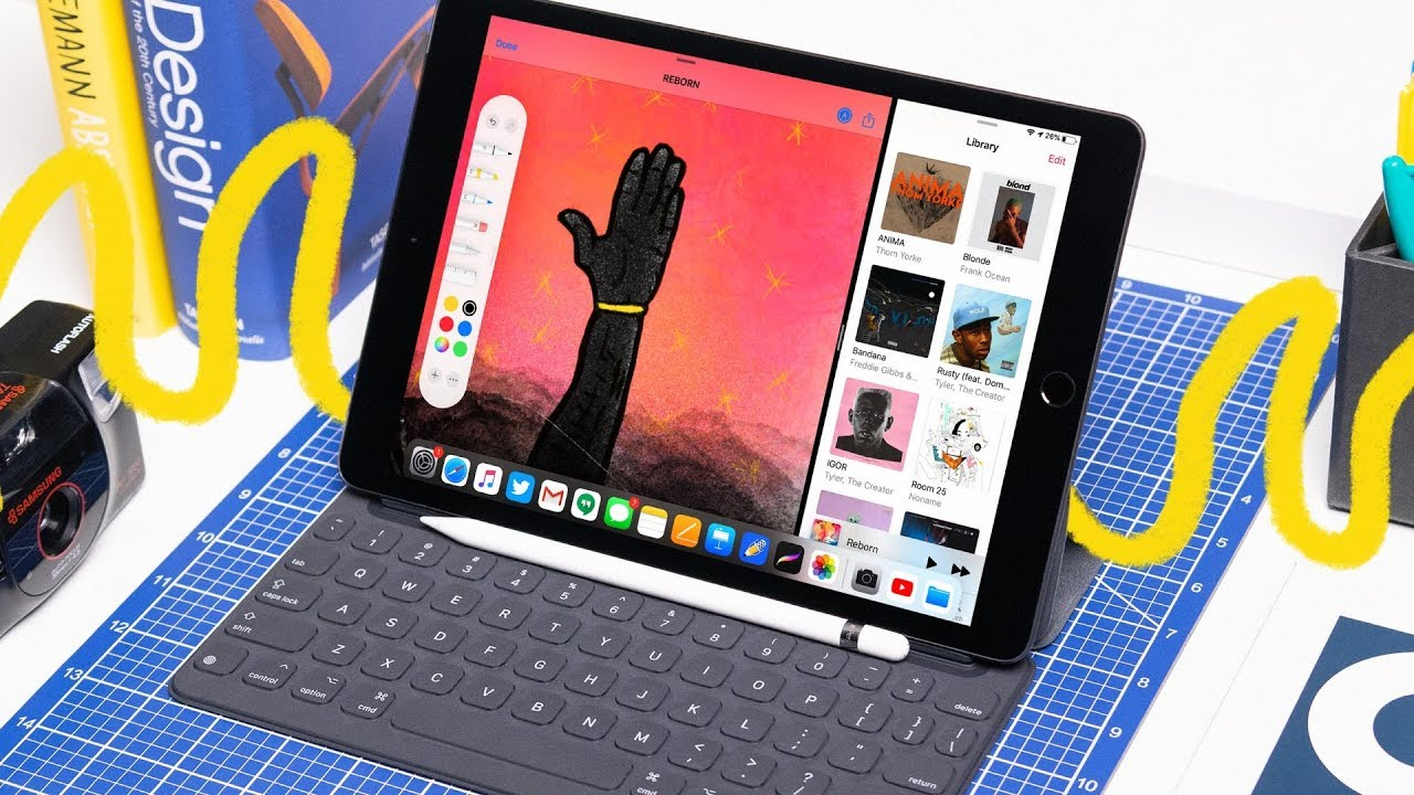iPad 2019 Review + Student Perspective (New 10.2