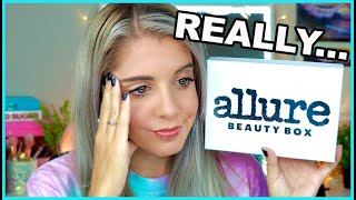 UNBOXING ALLURE BEAUTY BOX JULY 2020 || BUT WHY THOUGH?!? ||