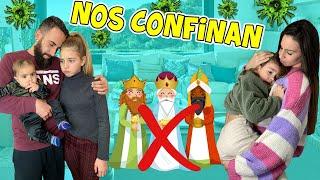 NOS QUEDAMOS SIN REYES MAGOS PORQUE NOS CONFINAN 😭 LO CONTAMOS TODO / Familia Amiguindy
