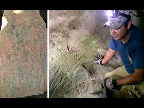 Great Discovery: Concrete Contact Evidences of the Mayan People with the Extraterrestrials !!