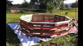 видео Строим бассейн на даче своими руками пошагово