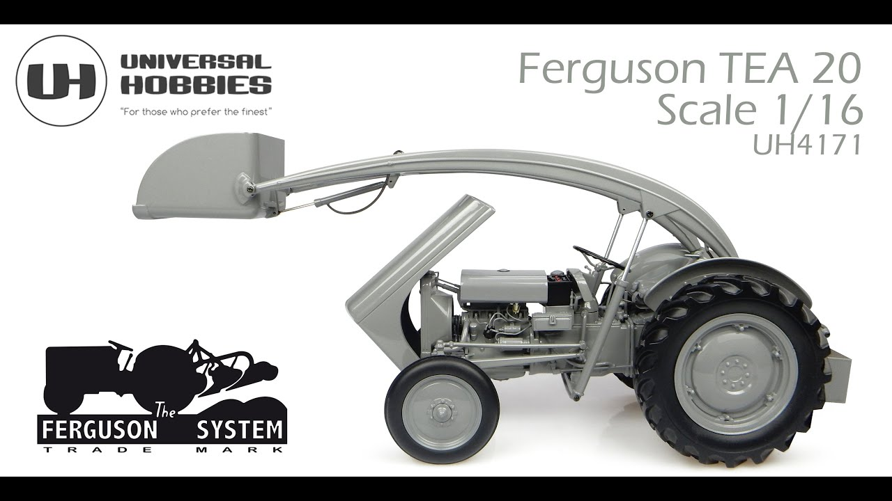 Ferguson TEA-20 with front loader (1947) - X993040429000 - 1:16 scale