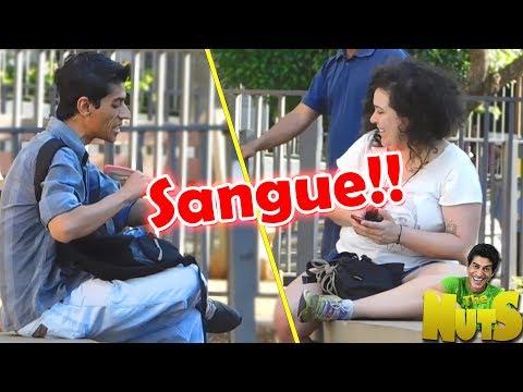 PRECISO DO SEU SANGUE (PEGADINHA)