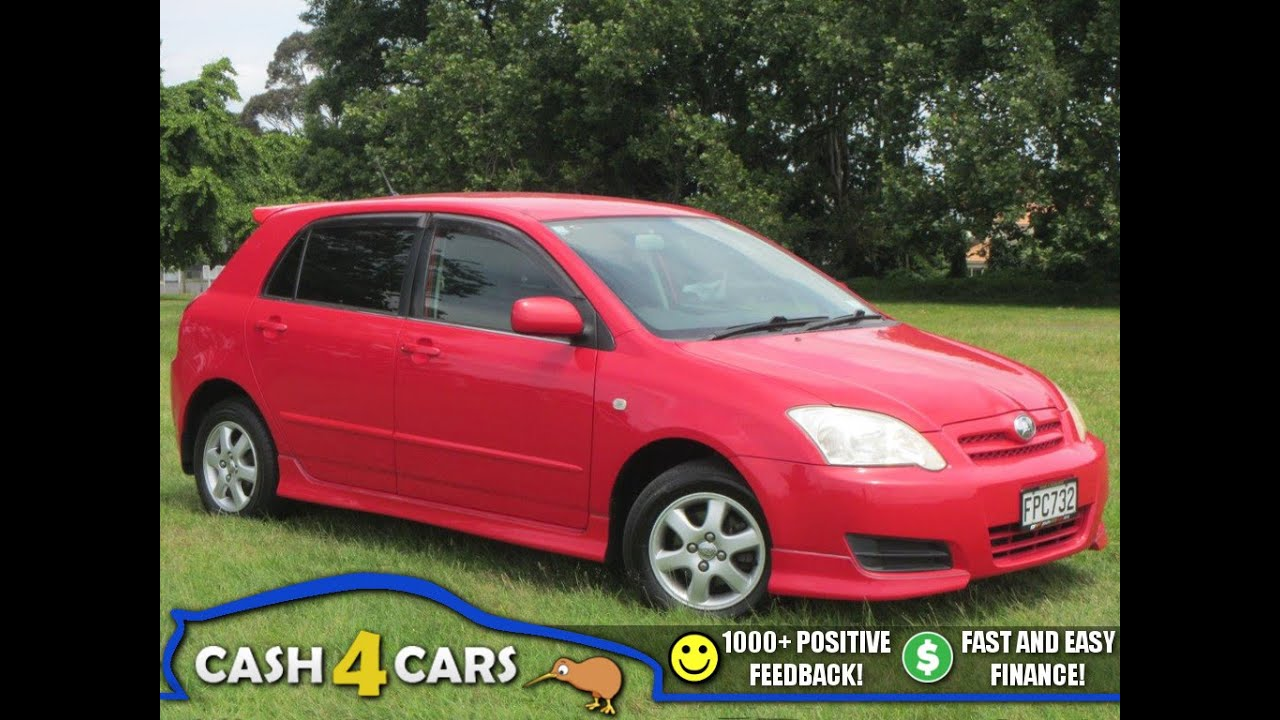 2004 toyota allex corolla runx hot look cash4cars sold youtube
