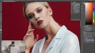 FREQUENCY SEPARATION RETOUCHING TECHNIQUE WORKFLOW