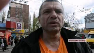 Видео Новости-N: На площади Победы седельный тягач «МАН» насмерть сбил пешехода