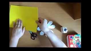 Ромашка из бумаги