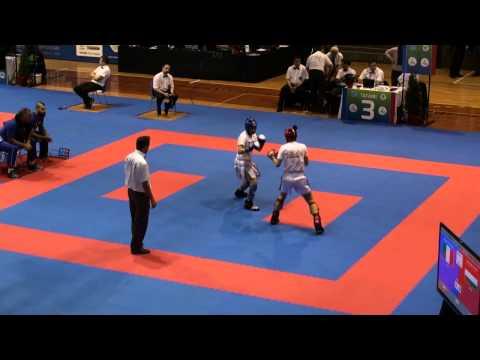 WAKO Kickboxing - EC 2014 - FINALS W KL -55kg - Busa(HUN) - Perona(ITA)
