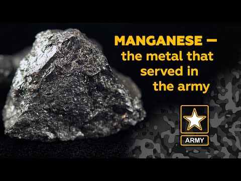 Manganese: The Metal That Served In The Army