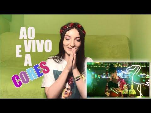 Matheus & Kauan Anitta - Ao Vivo E A Cores I REACTION GRINGA