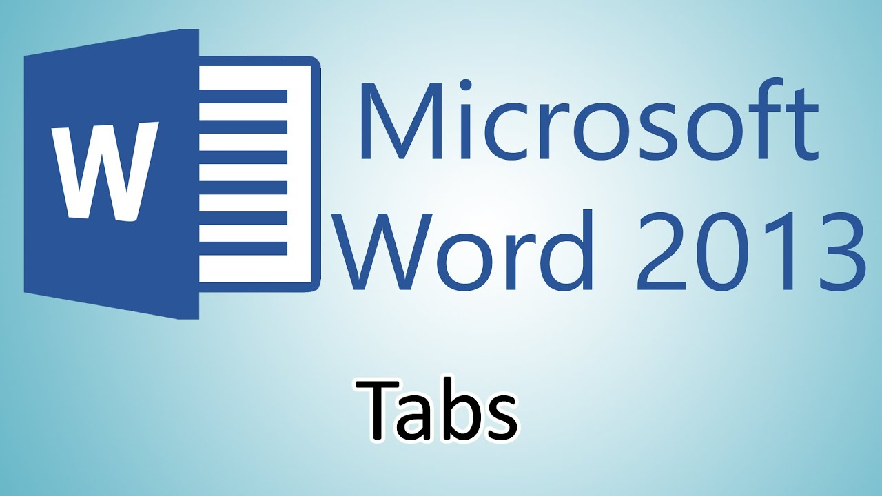 Microsoft word 2013 tutorial tabs youtube for Microsoft word macro enabled template