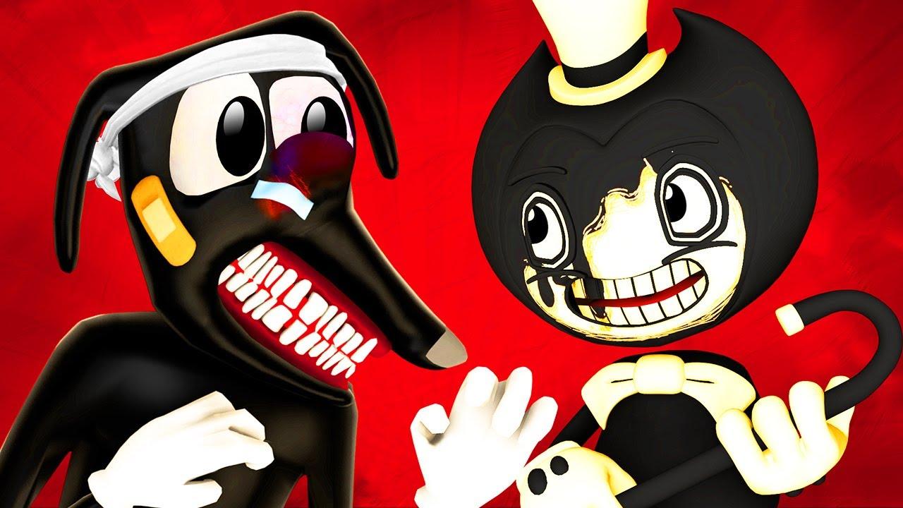 Картун Дог vs Бенди 2: Чернильный Мир (Ной Cartoon Dog Bendy and the Ink Machine BATIM 3D Анимация)