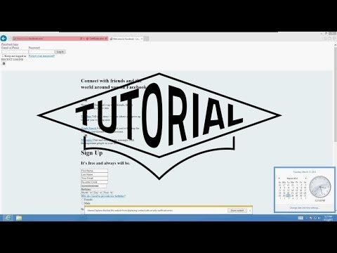 How To Fix Certificate Error Problem
