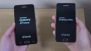 Samsung Galaxy J7 Prime vs Galaxy A5 2016 - Which is Fastest?