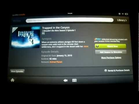 How To Fix Amazon Instant Video Streaming Error (Kindle Fire) (Device Not Configured To Play Videos)