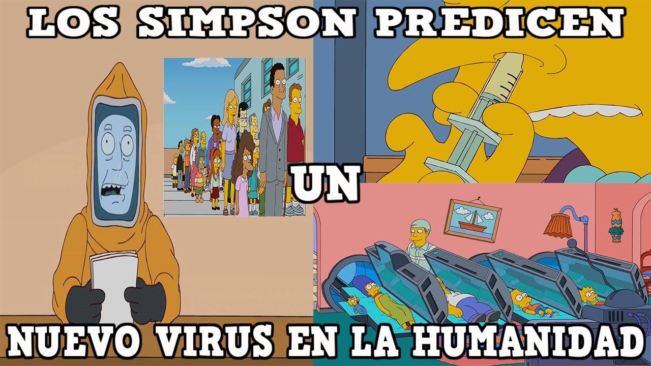 LOS SIMPSON PREDICEN UN NUEVO VIRUS EN LA HUMANIDAD