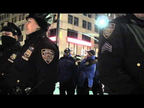 Zuccotti Park Re-Occupied 1/10/2012