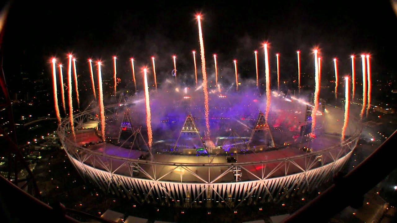 Fireworks  London 2012 Olympics Closing Ceremony