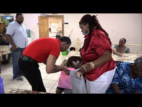 Faris Al-Rawi Delivers to Senior Citizens on Mothers' Day - May 09, 2015 - Trinidad & Tobago